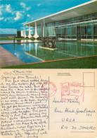 Palacio Da Alvorada, Brasilia, Brazil Postcard Posted 1972 Meter - Brasilia