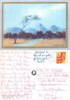 Landscape, Botswana Postcard Posted 2002 Stamp - Botswana