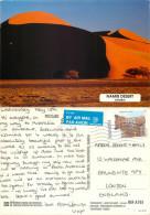Namib Desert, Namibia Postcard Posted 1998 Stamp - Namibië