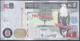 Zambia 2 Kwacha 2012 P49a UNC - Zambia