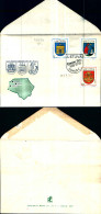 83787) Lituania-FDC- Stemmi Delle Città-serie Completa N.456-58---7-3-1993 - Lithuania