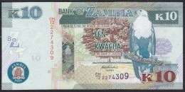 Zambia 10 Kwacha 2014 P51c UNC - Zambia