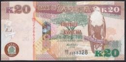 Zambia 20 Kwacha 2012 P52a UNC - Zambie