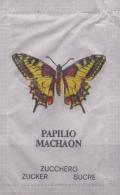 SWITZERLAND : Sachet De Sucre/Sugar Oackage: VLINDER,PAPILLON,BUTTERFLY,   ## Papilio Machaon ## ## Vanessa Io ## - Sucres