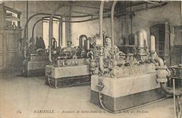 MARSEILLE ASCENSEUR DE NOTRE DAME DE LA GARDE SALLE DES MACHINES