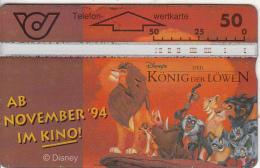 AUSTRIA - Disney/The Lion King, CN : 400A, 10/94, Used - Oostenrijk