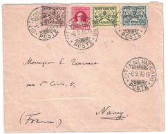 VATICAN - 1930 LETTRE Pour La FRANCE Nancy Avec BEL AFFRANCHISSEMENT CITTA DEL VATICANO POSTES - SEE STAMPS - Lettres & Documents