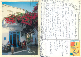 Crete, Greece Postcard Posted 2000 Stamp - Grecia