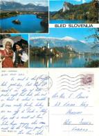 Bled, Slovenia Postcard Posted 1986 Stamp - Slovenia