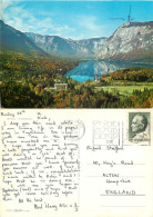 Bohinj, Slovenia Postcard Posted 1971 Stamp - Slovenia