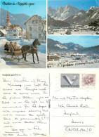 Kranjska Gora, Slovenia Postcard Posted 1987 Stamp - Slovenia