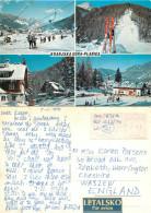 Ski Lift, Kranjska Gora, Slovenia Postcard Posted 1976 ATM Meter - Slovenia