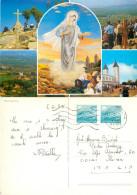 Medugorje, Bosnia Postcard Posted 1988 Stamp - Bosnia And Herzegovina