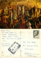 Postojna Cave, Slovenia Postcard Posted 1969 Stamp - Slovenia