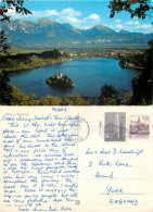 Bled, Slovenia Postcard Posted 1981 Stamp - Slovenia