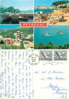 Petrovac, Montenegro  Postcard Posted 1986 Stamp - Montenegro