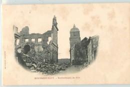 12480 - MONTMEDY - BOMBARDEMENT DE 1870 - Montmedy