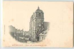 12483 - MONTMEDY - L EGLISE APRES LE BOMBARDEMENT EN 1870 - Montmedy