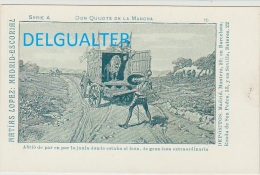 Tarjeta Postal - Don Quijote De La Mancha // Nº15 - Espagne