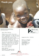 Children, Veyo Camp, Uganda Postcard Posted 2000s Stamp - Uganda