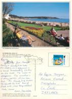 Gardens, St Brelade, Jersey Postcard Posted 1996 Stamp - Jersey