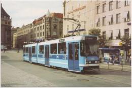 Postcard Norway - Tramway - Oslo 125 Jernbanetorget (Oslo Sentralstasjon) - Photo Ian Bayle - Tram