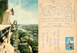 Notre-Dame, Paris, France Postcard Posted 1966 Stamp - Notre Dame De Paris