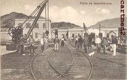 CAP VERT PONTE DE DESEMBARQUE CAPO VERDE PORTUGAL - Cap Vert