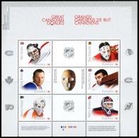 Canada (Scott No.2866 - Gardiens De But / Hockey / Goaltenders)+ [**] BF / SA
