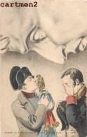 CARTE TABLEAU NAPOLEON ADIEUX A FONTAINBLEAU PREMIER EMPIRE 1900 - Storia