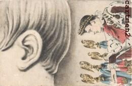 CARTE TABLEAU NAPOLEON DISTRIBUTION DES AIGLES PREMIER EMPIRE 1900 - Storia