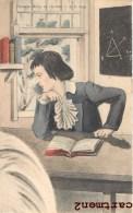 CARTE TABLEAU NAPOLEON PREMIER REVE DE GLOIRE PREMIER EMPIRE 1900 - Storia