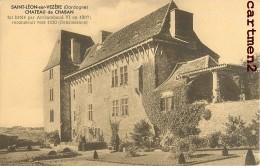 SAINT-+LEON-SUR-VEZERE CHATEAU DE CHABAN ARCHAMBAUD VI 24 DORDOGNE - Frankrijk
