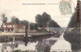 SAINT-GERMAIN-LES-COUILLY LE GRAND MORIN PENICHE 77 - Francia