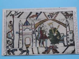 TAPISSERIE De La Reine MATHILDE Bayeux The Queen Mathilda TAPESTRY ( N° 101 ) Anno 19?? ( Zie Foto Voor Details ) - Objets D'art