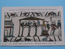 TAPISSERIE De La Reine MATHILDE Bayeux The Queen Mathilda TAPESTRY ( N° 104 ) Anno 19?? ( Zie Foto Voor Details ) - Belle-Arti