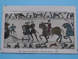 TAPISSERIE De La Reine MATHILDE Bayeux The Queen Mathilda TAPESTRY ( N° 108 ) Anno 19?? ( Zie Foto Voor Details ) - Belle-Arti