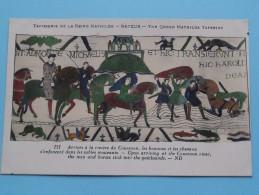 TAPISSERIE De La Reine MATHILDE Bayeux The Queen Mathilda TAPESTRY ( N° 121 ) Anno 19?? ( Zie Foto Voor Details ) - Belle-Arti