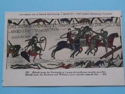 TAPISSERIE De La Reine MATHILDE Bayeux The Queen Mathilda TAPESTRY ( N° 122 ) Anno 19?? ( Zie Foto Voor Details ) - Belle-Arti