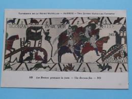 TAPISSERIE De La Reine MATHILDE Bayeux The Queen Mathilda TAPESTRY ( N° 123 ) Anno 19?? ( Zie Foto Voor Details ) - Belle-Arti