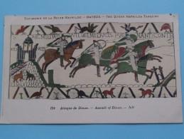 TAPISSERIE De La Reine MATHILDE Bayeux The Queen Mathilda TAPESTRY ( N° 124 ) Anno 19?? ( Zie Foto Voor Details ) - Belle-Arti