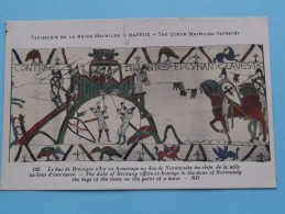 TAPISSERIE De La Reine MATHILDE Bayeux The Queen Mathilda TAPESTRY ( N° 125 ) Anno 19?? ( Zie Foto Voor Details ) - Belle-Arti