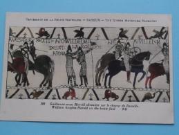 TAPISSERIE De La Reine MATHILDE Bayeux The Queen Mathilda TAPESTRY ( N° 126 ) Anno 19?? ( Zie Foto Voor Details ) - Belle-Arti