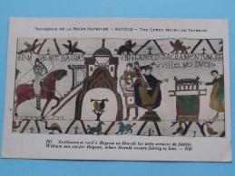 TAPISSERIE De La Reine MATHILDE Bayeux The Queen Mathilda TAPESTRY ( N° 127 ) Anno 19?? ( Zie Foto Voor Details ) - Arts