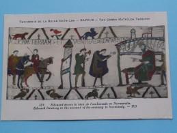 TAPISSERIE De La Reine MATHILDE Bayeux The Queen Mathilda TAPESTRY ( N° 130 ) Anno 19?? ( Zie Foto Voor Details ) - Belle-Arti