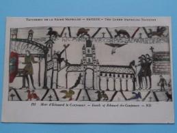 TAPISSERIE De La Reine MATHILDE Bayeux The Queen Mathilda TAPESTRY ( N° 131 ) Anno 19?? ( Zie Foto Voor Details ) - Belle-Arti