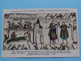TAPISSERIE De La Reine MATHILDE Bayeux The Queen Mathilda TAPESTRY ( N° 133 ) Anno 19?? ( Zie Foto Voor Details ) - Belle-Arti