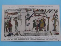 TAPISSERIE De La Reine MATHILDE Bayeux The Queen Mathilda TAPESTRY ( N° 135 ) Anno 19?? ( Zie Foto Voor Details ) - Belle-Arti