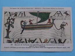 TAPISSERIE De La Reine MATHILDE Bayeux The Queen Mathilda TAPESTRY ( N° 136 ) Anno 19?? ( Zie Foto Voor Details ) - Belle-Arti