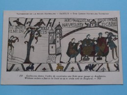 TAPISSERIE De La Reine MATHILDE Bayeux The Queen Mathilda TAPESTRY ( N° 137 ) Anno 19?? ( Zie Foto Voor Details ) - Arts